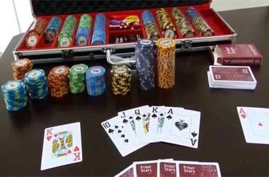 poker chip organisers