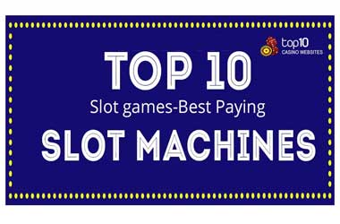 Infographic on 10 Best Slot Games
