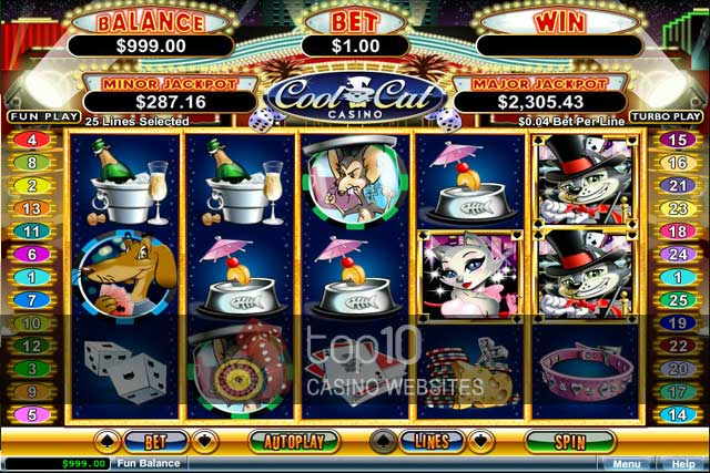 Top Cat Slot Machine Review & Free Instant Play Casino Game