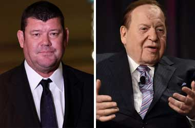 James Packer Discusses Potential Crown Resorts Sale With Sheldon Adelson