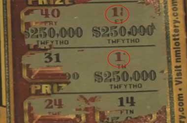 Mis Print Lotto Ticket