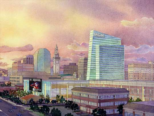 MGM President Reaffirms Commitment to Springfield Casino