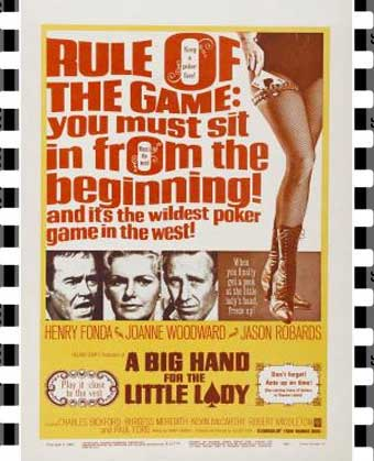 A Big Hand for the Little Lady Film Poster