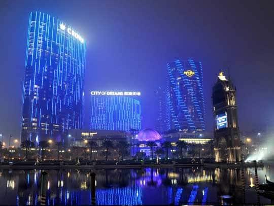 macau casino resort city of dreams