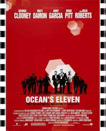 Oceans Eleven Film Poster