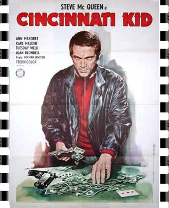 The Cincinnati Kid Film Poster