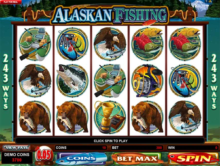 Alaskan Fishing Video Slot