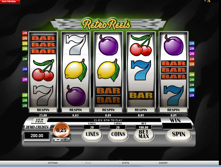 casino slot machines real money