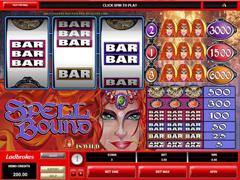 Spell Bound Video Slot