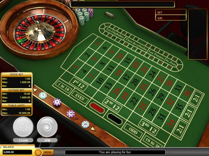roulette game online real money