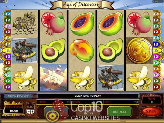 Spiele Age Of Discovery - Video Slots Online