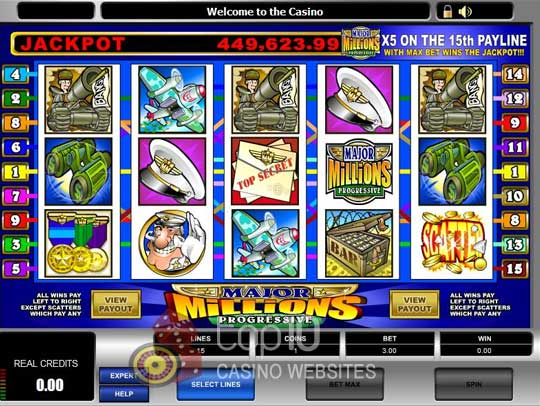 Major Millions Progressive Jackpot for Real Money - Rizk Casino
