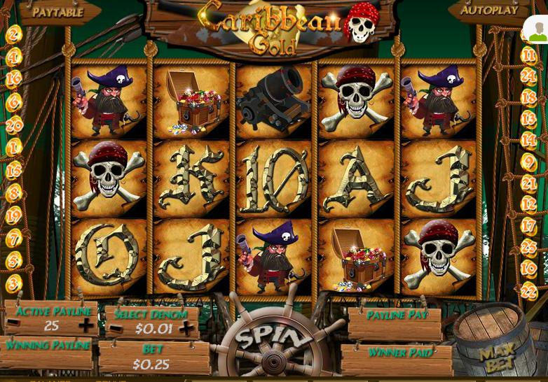 Caribbean Gold Video Slot
