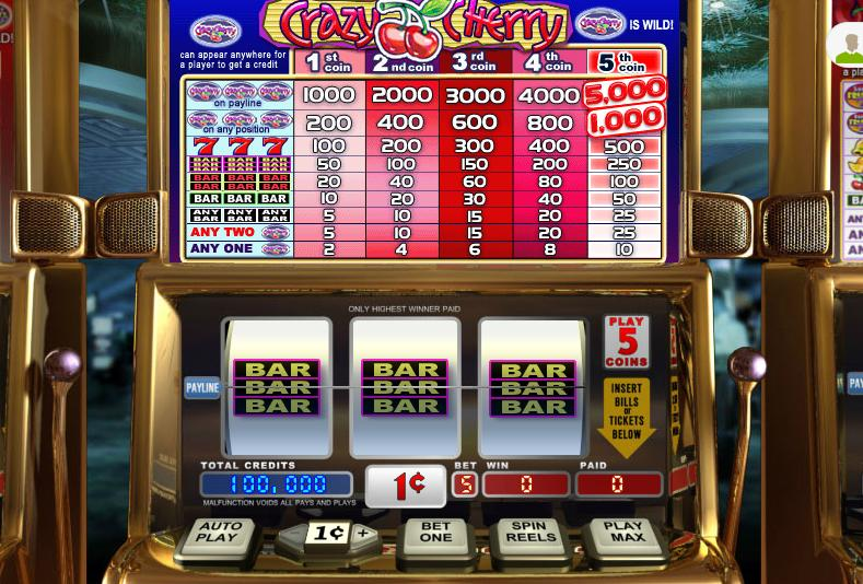 Crazy Cherry Video Slot