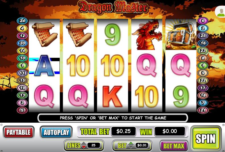 Dragon Master Video Slot