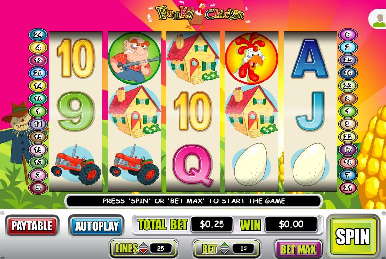 Funky Chicken Video Slot