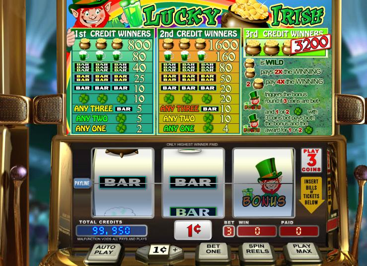 Lucky Irish Video Slot