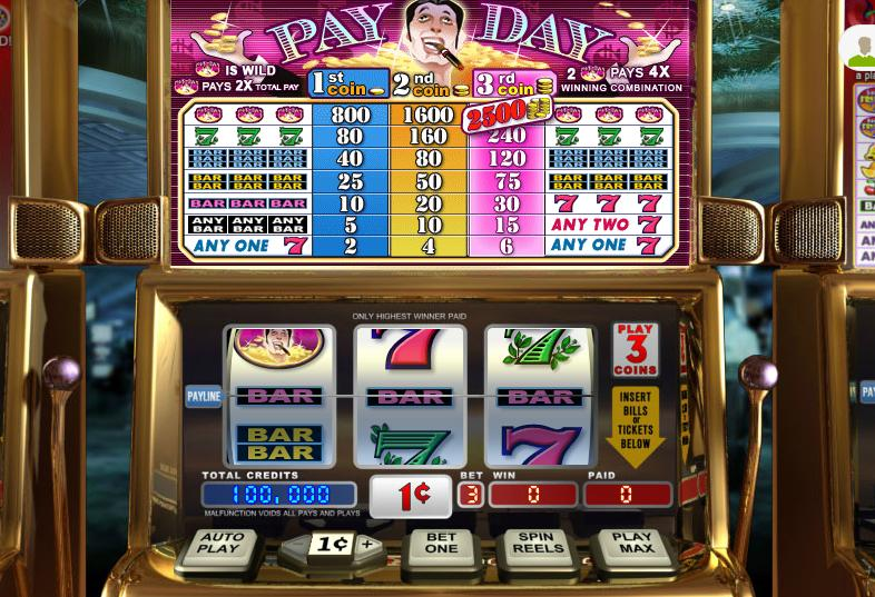 Pay Day Video Slot