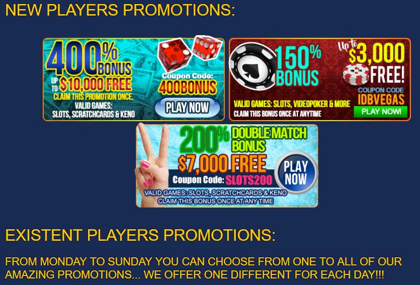Las Vegas USA Casino Promotions
