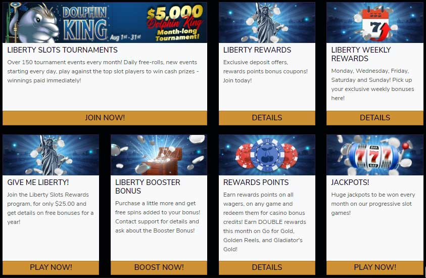 Liberty Slots Casino Promotions