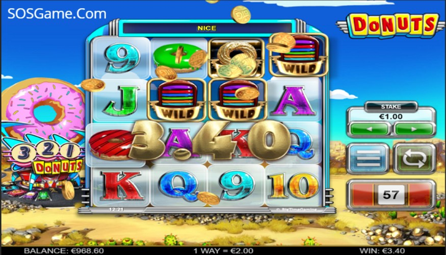 Donuts big time casino slots Taşköprü