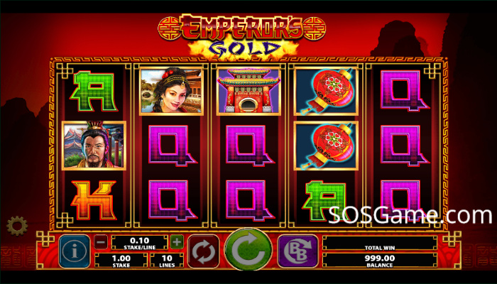 Emperor's Gold Video Slot