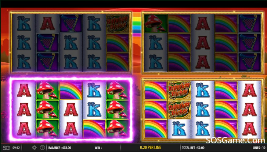 Rainbow Riches Fortune Favours Video Slot
