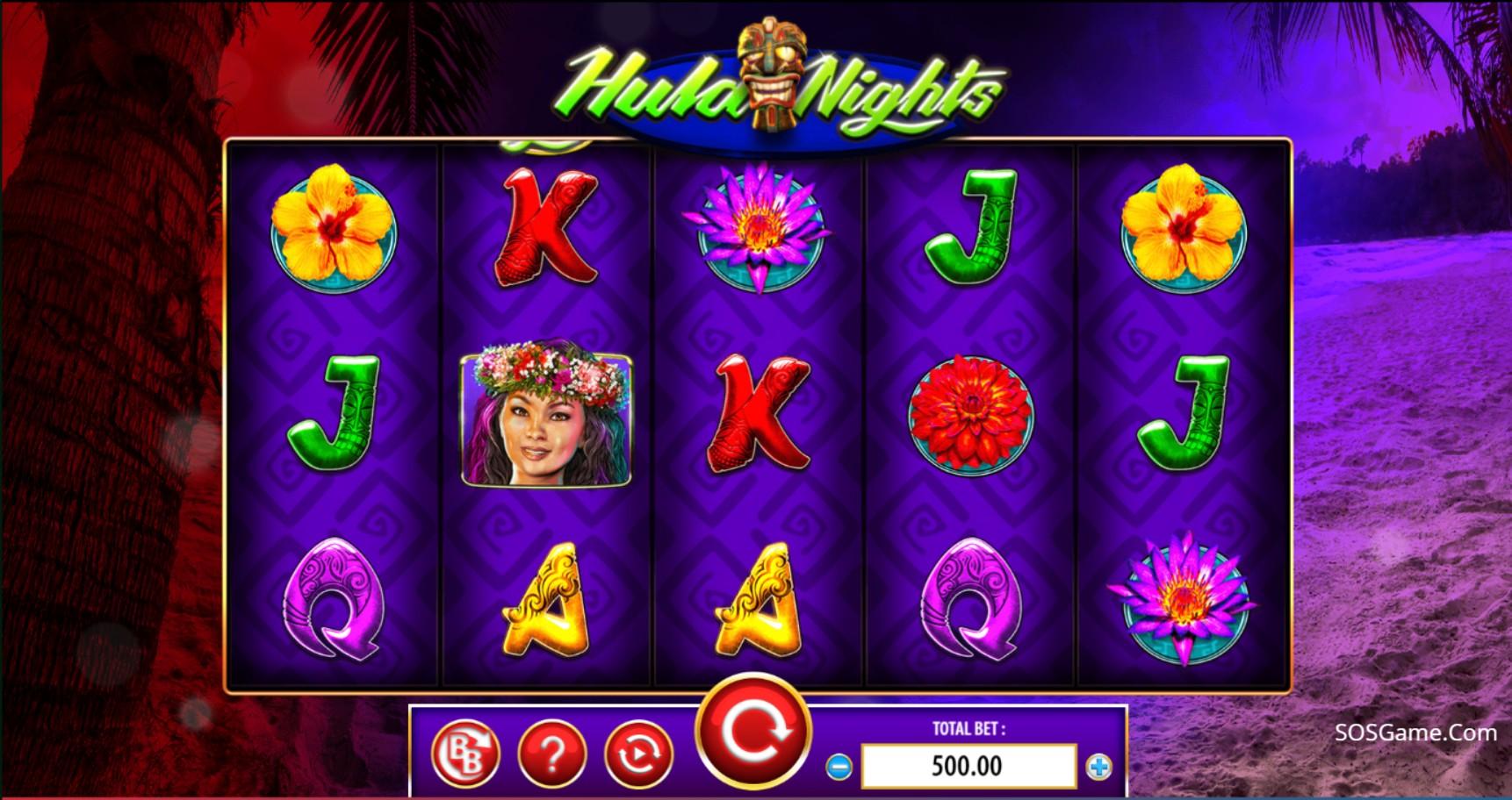 Hula Night Video Slot