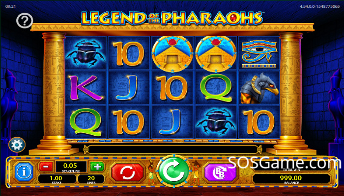 Legend Of The Pharaohs Video Slot
