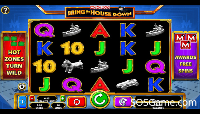 Monopoly Bring The House Down Video Slot