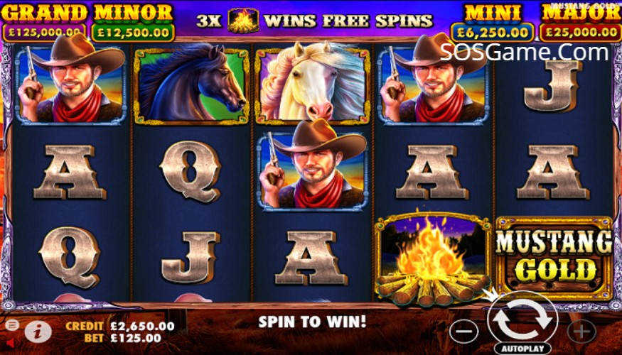 Mustang Gold Video Slot
