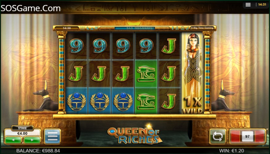 Queen of Riches Video Slot