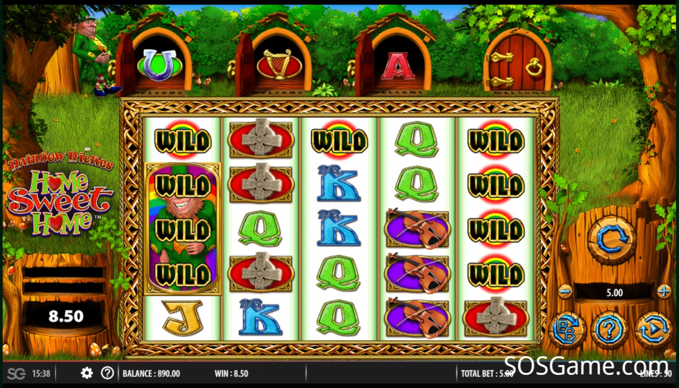 Rainbow Riches Home Video Slot
