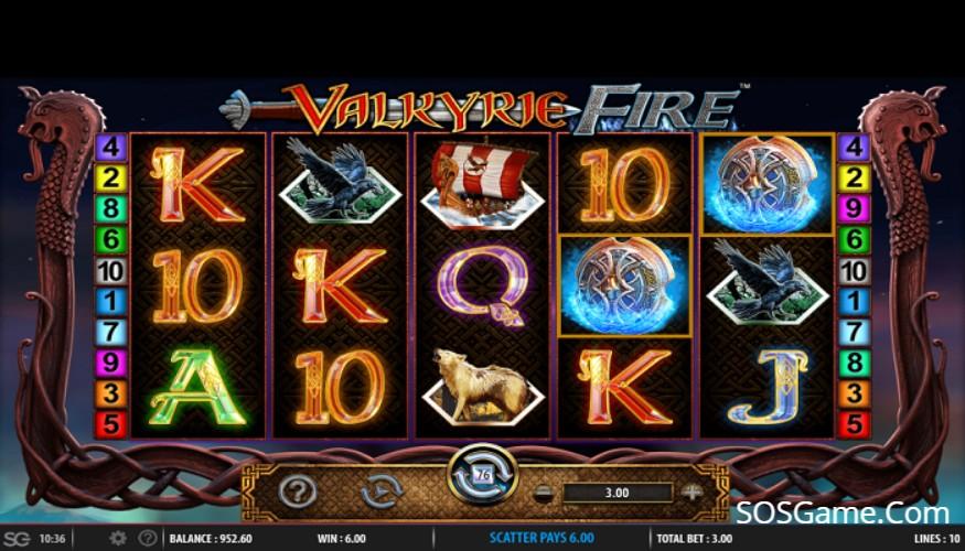 Valkyrie Fire Video Slot