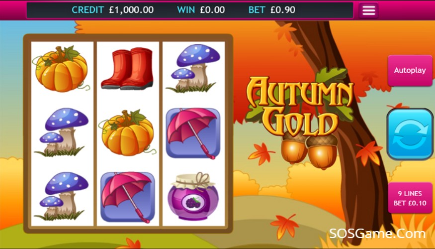 Autumn Gold Video Slot