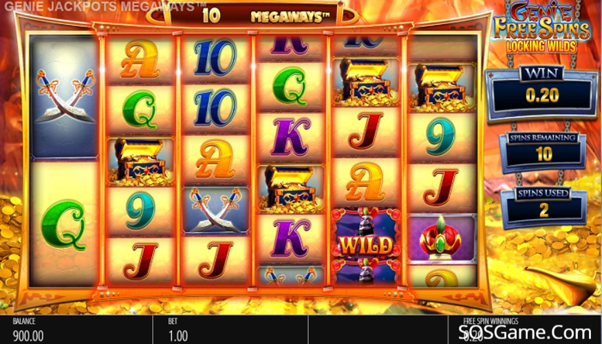 Genie Jackpot Megaways Video Slot