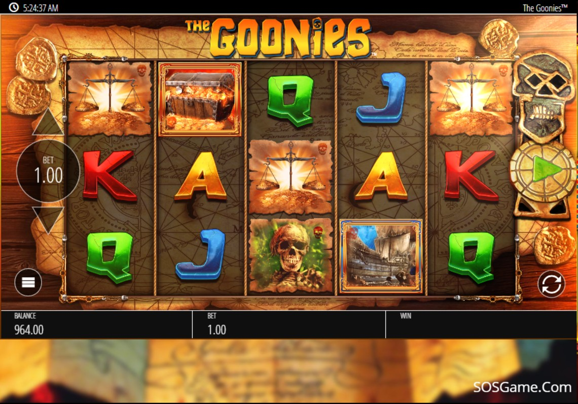 The Goonies Video Slot