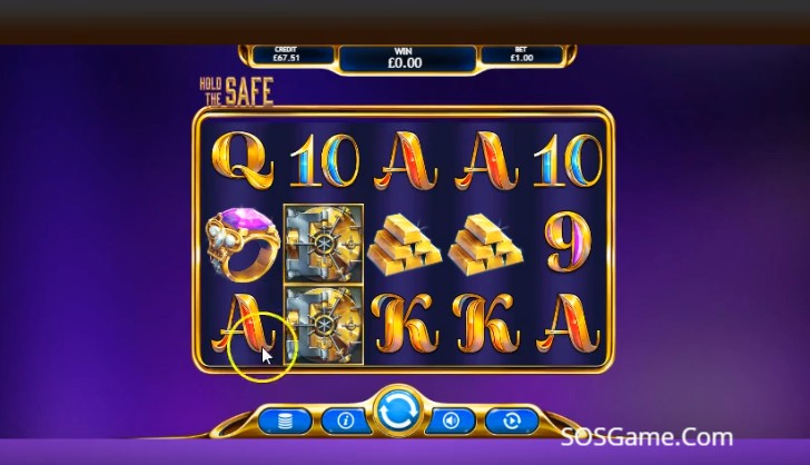 Hold The Safe Jackpot Video Slot