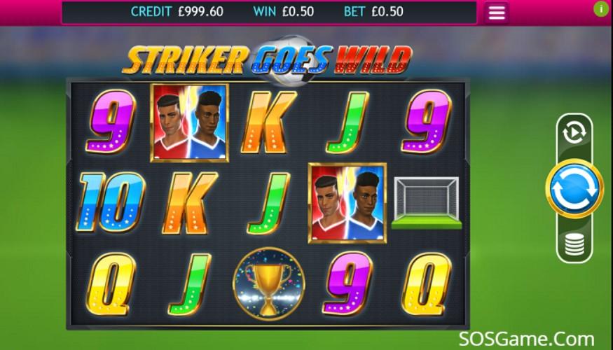 Striker Goes Wild Video Slot