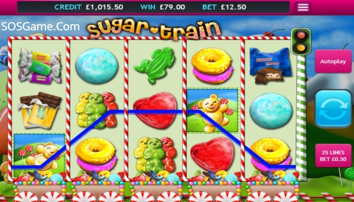 Sugar Train Video Slot