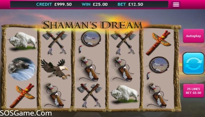 Shaman's Dream Jackpot Video Slot