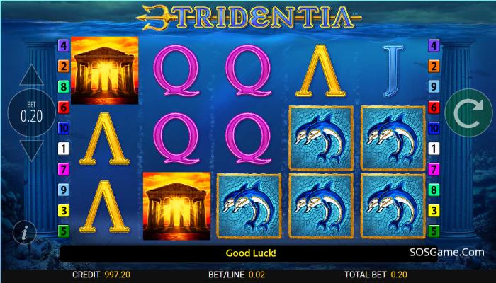 Tridentia Video Slot