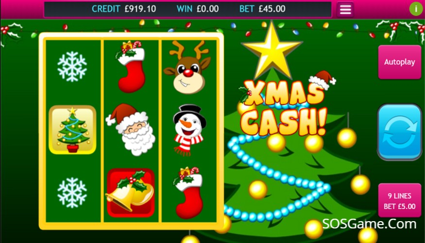 Xmas Cash Video Slot